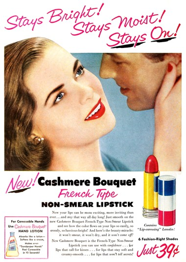 Cosmetics and Skin: Indelible Lipsticks