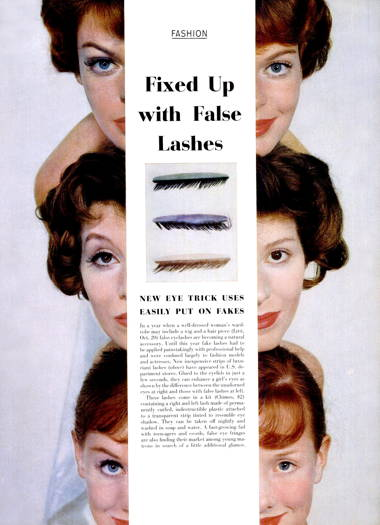 Cosmetics and Skin: False Eyelashes