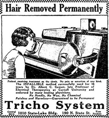 Tricho machine
