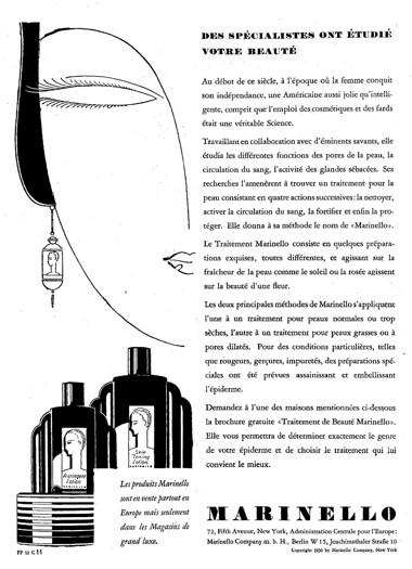 marinello cosmetics dk