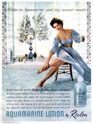 Cosmetics And Skin Revlon Post 1960