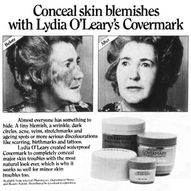 Cosmetics And Skin Covermark