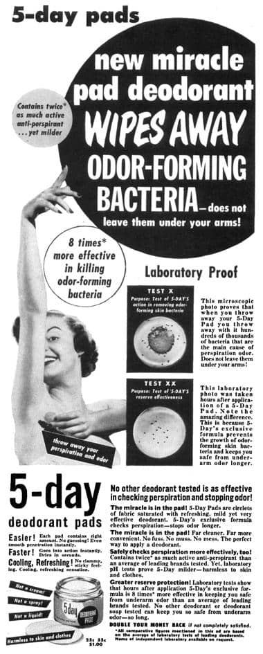 Cosmetics and Skin: Deodorants and Antiperspirants