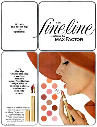 Collectibles Other Collectible Ads 1962 Vintage Max Factor California Blues Eye Liner Mascara Make-up Color Ad Durable Service