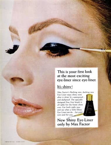 Cosmetics And Skin Max Factor Post 1945