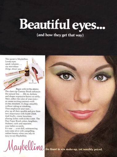 1968 Maybelline Eye Make-up