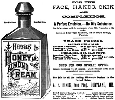 Cosmetics and Skin: A  S  Hinds