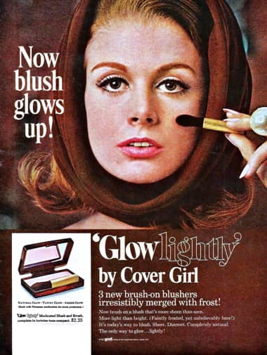 Original Print Ad 1950 Coty Makeup Finger Blend Make-up Price Remains Stable Merchandise & Memorabilia Advertising