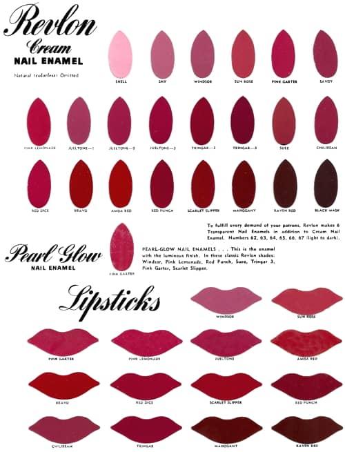 Cosmetics And Skin Revlon