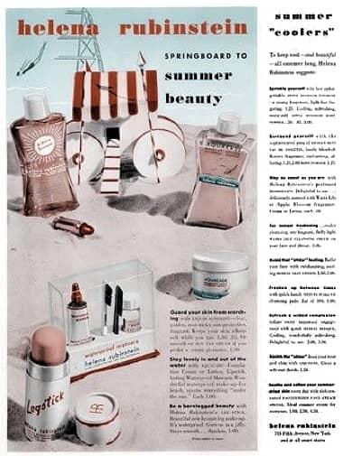 Cosmetics and Skin: Helena Rubinstein (1930-1945)