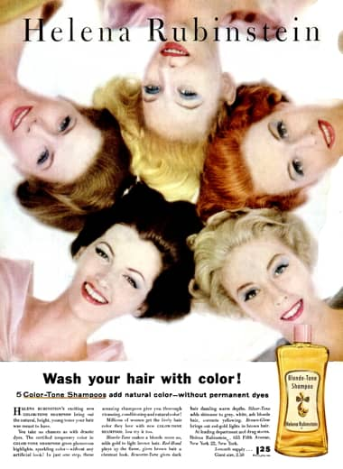 1960 Noxzema Skin Complexion Clean Blonde Washing Face Nails Original Ad Other Collectible Ads